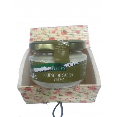 Coffret cadeau crème de fromage de chèvre Deliex