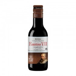 Miniature wine Faustino VII 18,7 cl