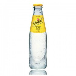 Tonic Schweppes 25 cl in crystal bottle