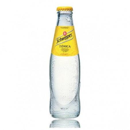 Tónica Schweppes 25 cl en botella de cristal