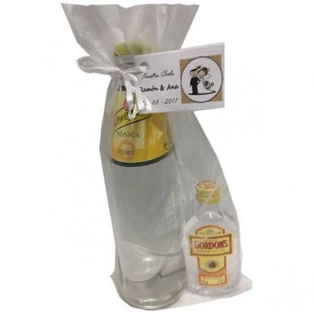 Pack Gin Tonic con Gordon's para regalo para bautizos