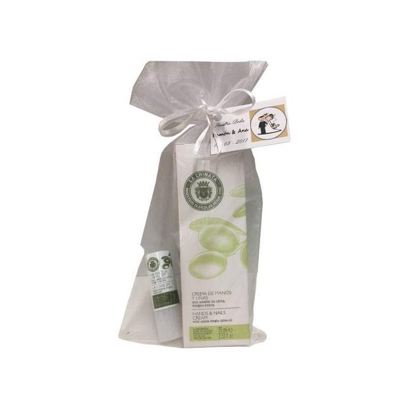 53dc46651 Set de cosmética con crema de manos y protector labial para regalo