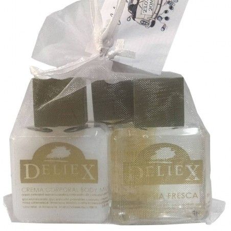 Crema bodymilk, sales de baño y colonia Deliex