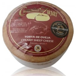 Cheese creamy from Zújar...