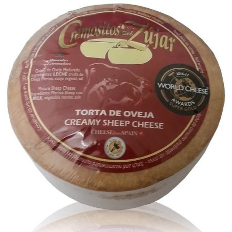 Cheese creamy from Zújar for gift
