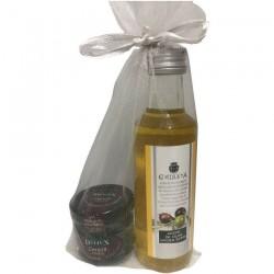 Pack du huile d'olive 100ml et marmelade du cerise pour offrir