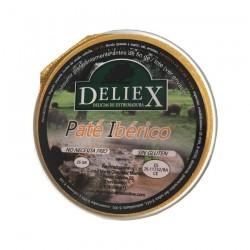 Paté ibérico monodosis 25 gr Deliex