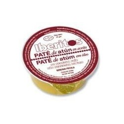 Tuna pate in oil 25 gr single dose