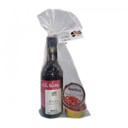 Pack of wedding wine Arnáiz and two pâté for communions