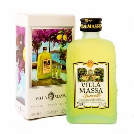 Limoncello du le marque Villa Massa 50 ml.