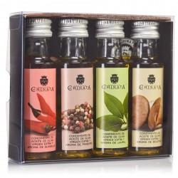 Box of 4 spicy mini oils
