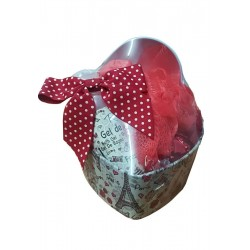 Small heart tin with gel,...