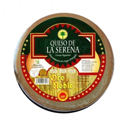 "La Serena cheese's cream D.O. ""Oro Noble"""