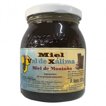 Mountain honey Val de Xálima 0,5 kg