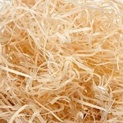 Wood chips 0,5 kg, grass to decorate your gifts, baskets and cases