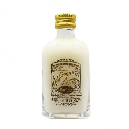 Crème de liqueur miniature de riz au lait Panizo 5 cl pour les mariages