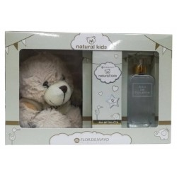 Agua de colonia Natural Kids 50 ml el regalo incluye oso de peluche
