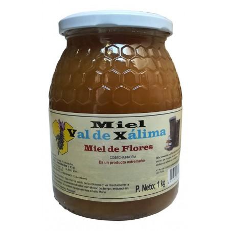 Flower honey 1kg Val de Xálima