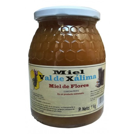 Miel de fleurs 1kg Val de Xálima