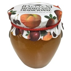 Natural peach jam of 250 gr Deliex for christening