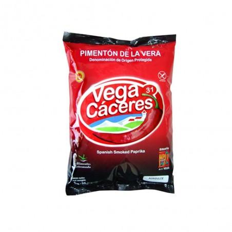 Piment de la Vera fumè Aigre - doux (Pot en  PVC 910g)