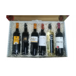 Gift box with 6 bottles of...