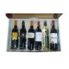 Estuche regalo con 6 botellas de vinos extremeños