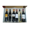 Gift box with 6 bottles of wine