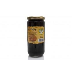 Arrope (sirop de raisin caramelise avec des fruits) d'Espagna