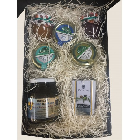Small special breakfast gift box