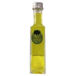 """Botella de licor """"Sole"""" miniatura 10 cl (Tres sabores)"""
