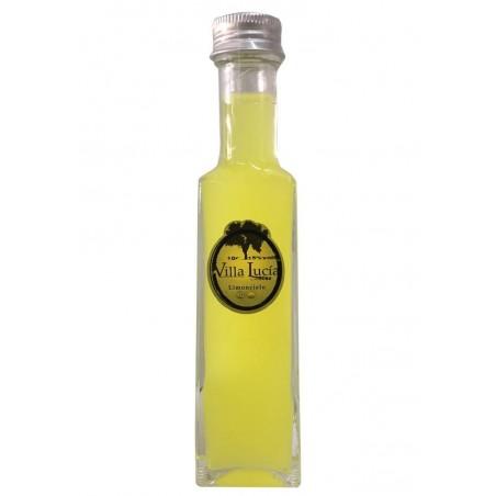 """Botella de licor """"Sole"""" miniatura 10 cl (Dos sabores)"""
