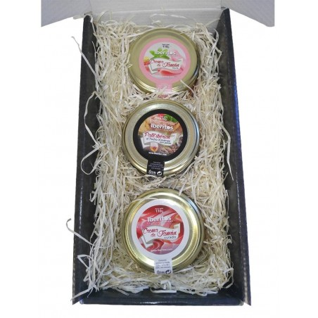 Lot of gift with three patés of Iberitos 110gr