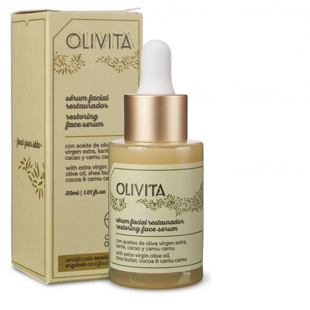 Olivita Facial Restorative Serum from La Chinata