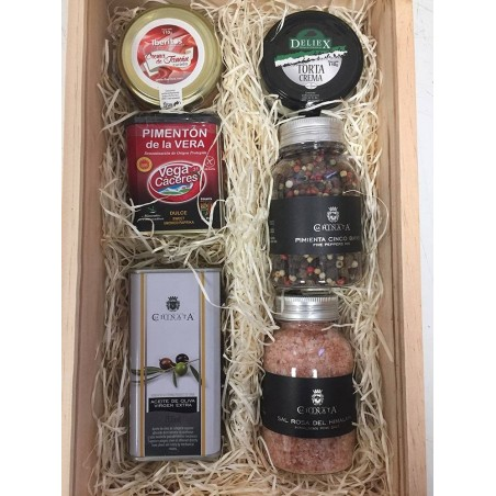 Holiday gastronomic selection box