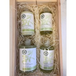 Cosmetic gift basket care and bath