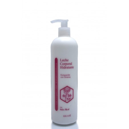 Leche corporal con Ginseng y Jalea Real