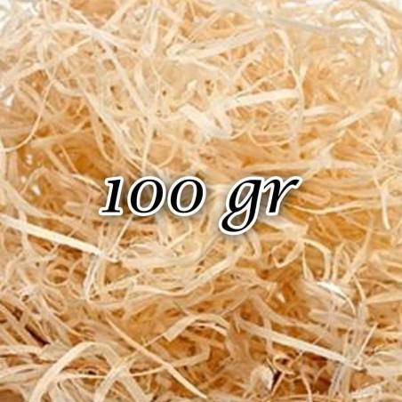 Copeaux de bois 0,5 kg, de l'herbe pour décorer vos cadeaux, paniers et étuis
