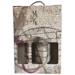 Elegant case for wines.