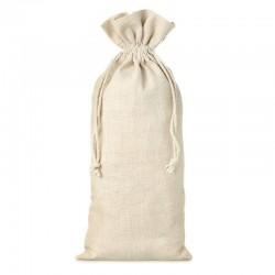 Bolsa de lino para botellita de vino 13x27 cm