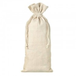 Natural beig linen bag 13x27