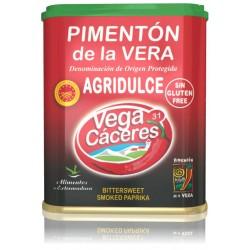 Pimentón de la Vera Ahumado agridulce lata 75 gr VEGA CÁCERES