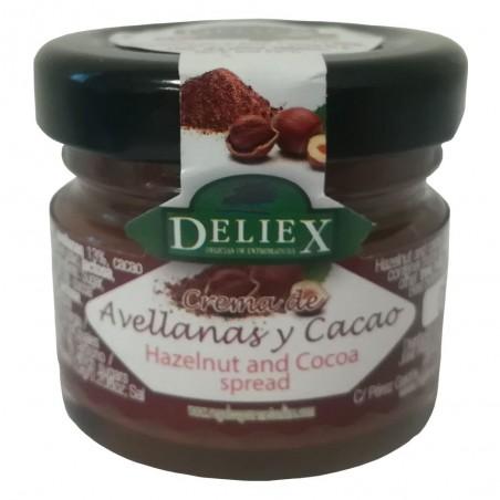 Crema de Cacao y Avellanas Tradicional 30 g Deliex