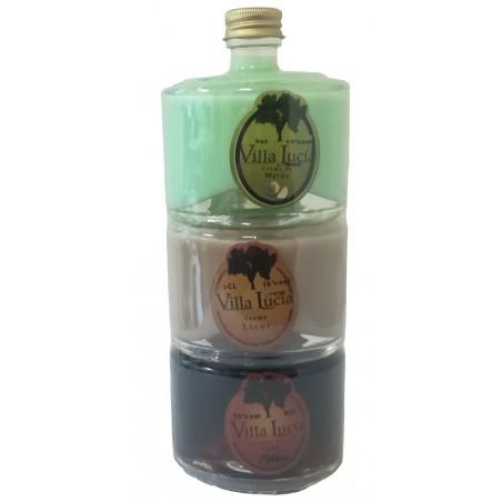 Pack licores apilables Viallucia para regalo ferias