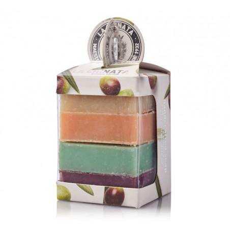 Pack 4 artisna soaps for memories