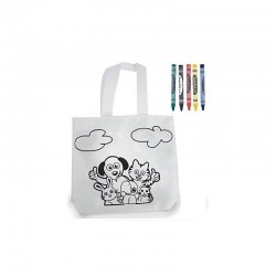 35 lunch bags with animals...