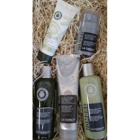Lot cosmetic care gift for men