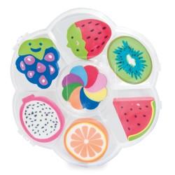 Pack gomas con forma de frutas