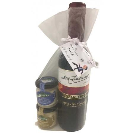 Pack cadeau vin Don Luciano et fromages Deliex mini