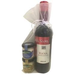 Pack cadeau vin Rioja Pata...